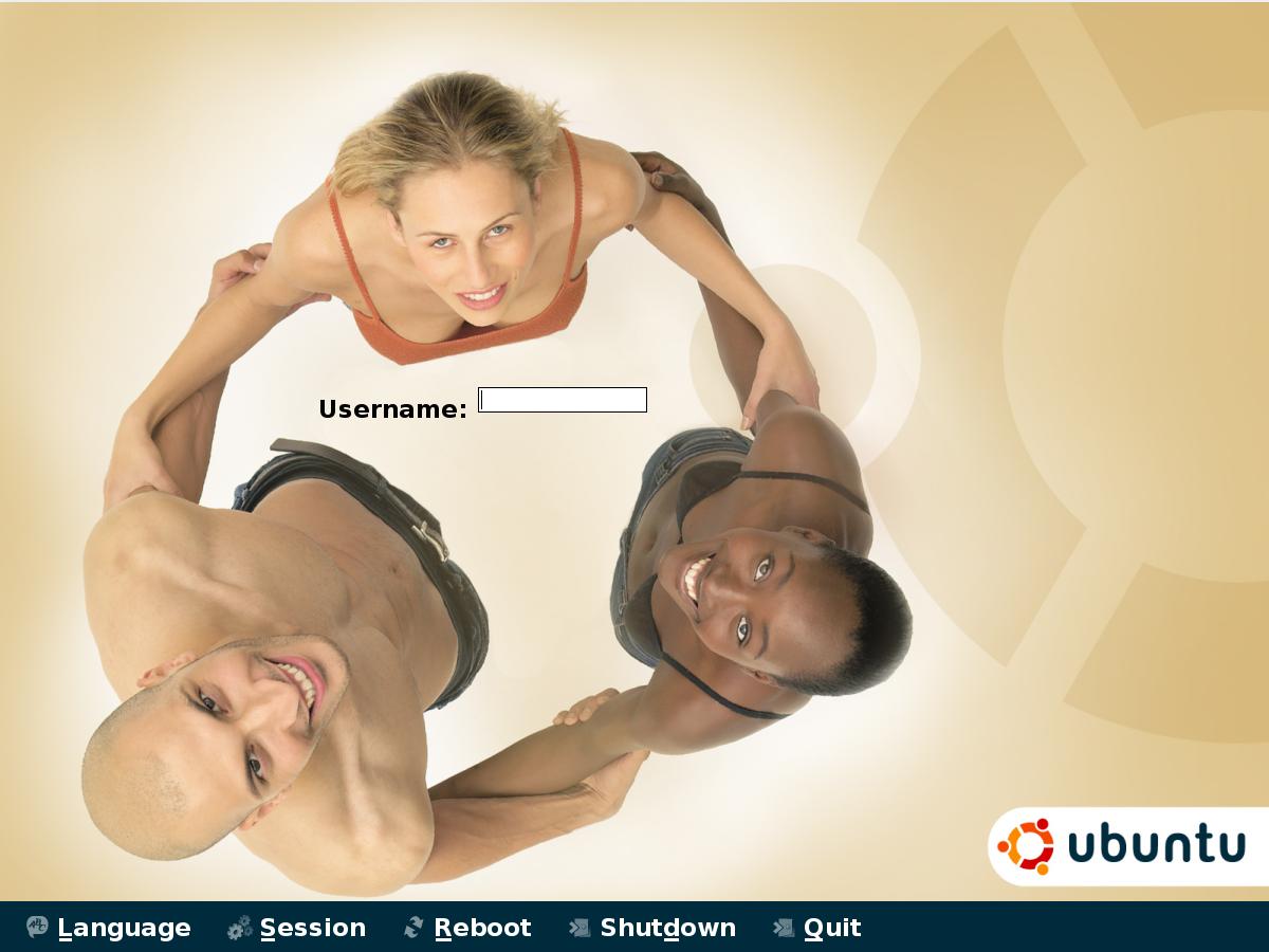 Logo Ubuntu humanisé