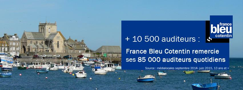 Couverture Facebook France Bleu Cotentin