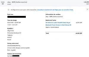 Hack eBay : activité PayPal