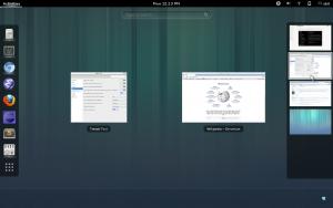 Environnement de bureau GNOME